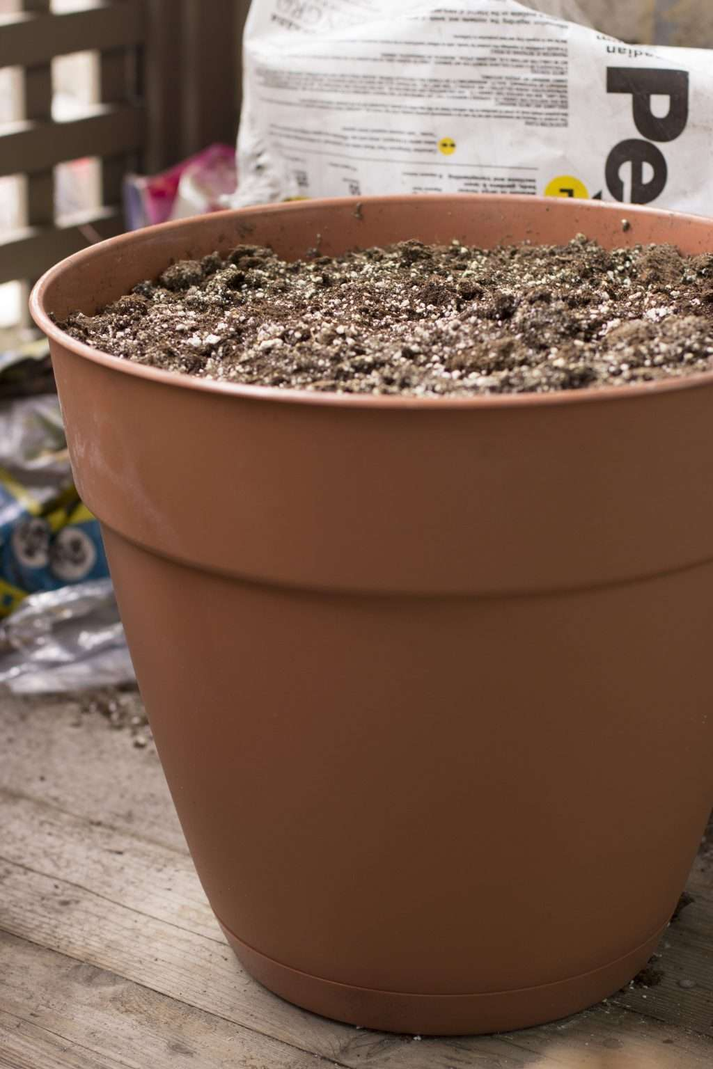Soil Peat Sand and Perlite