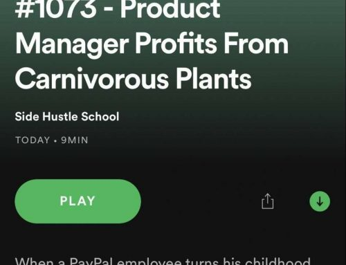 Carnivorous Plant Resource Featured on Popular Side Hustle School Podcast